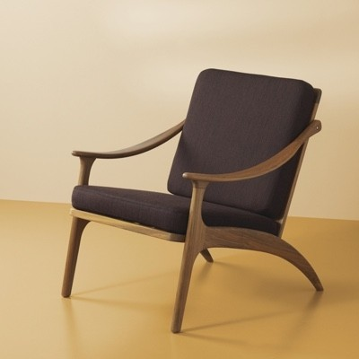 Warm Nordic Lean Back Easy Chair