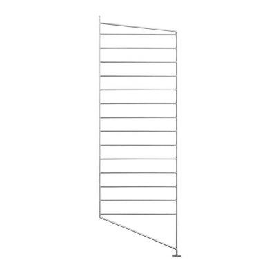 String Shelving System end floor panel 85 x 30cm galvanised for outdoor use