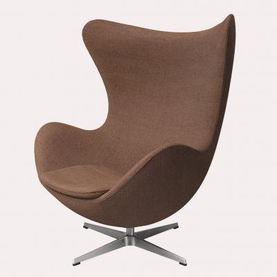 Fritz Hansen Egg Chair Walnut Leather