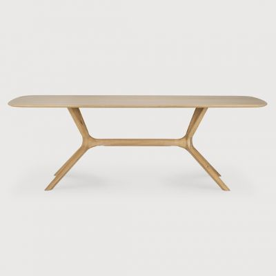 Ethinicraft Oak X Dining Table