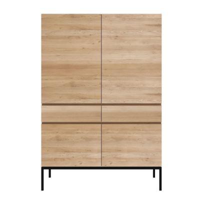Ethnicraft Ligna Storage Cupboard - Black