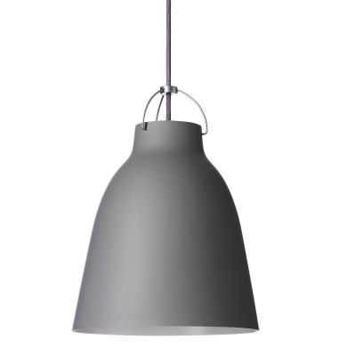 fritz hansen caravaggio pendant light matt  grey