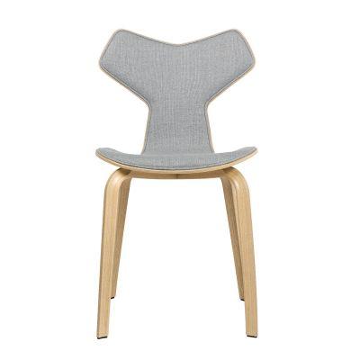Fritz Hansen Grand Prix Chair - Wood Base