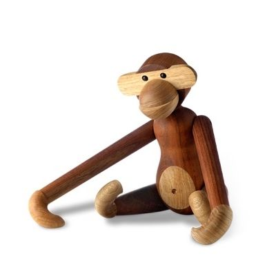 Kay Bojesen Monkey Teak and Limba - Small