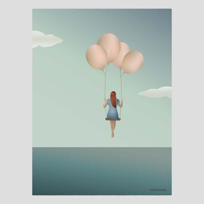 ViSSEVASSE Balloon Dream Poster