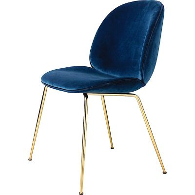 Gubi Beetle Chair Conic Base - Velvet