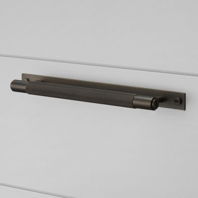 Buster + Punch Pull Bar Handle - Plate - Smoked Bronze