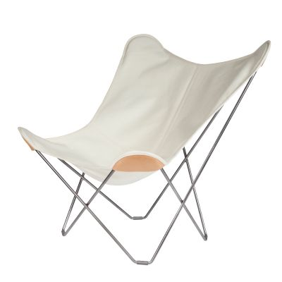 Cuero Design Canvas Butterfly Chair