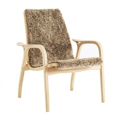 Swedese Laminett Easy Chair - Sheepskin