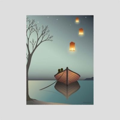 ViSSEVASSE Lanterns Poster