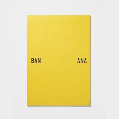 Playtype Banana Split Poster