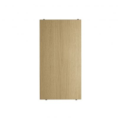 String Shelving system shelf 58 x 30cm oak