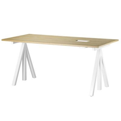 String Works Desk - Fixed Height