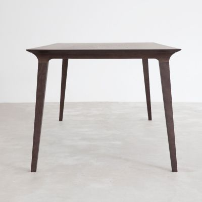 STUA Lau dining table grey stain