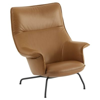 Muuto Doze Lounge Chair - Leather