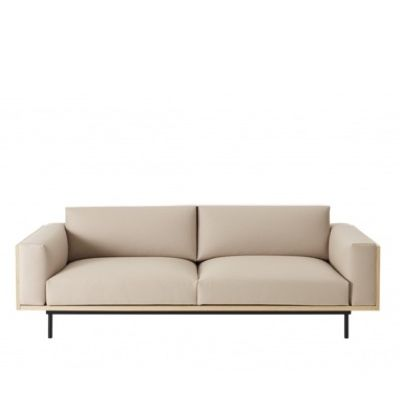 Swedese Wood 3 Seater Sofa