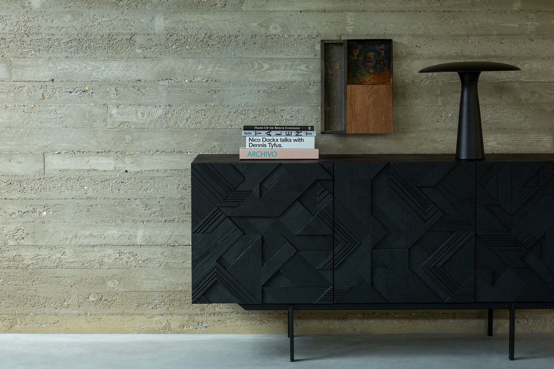 Ethnicraft Graphic Sideboard