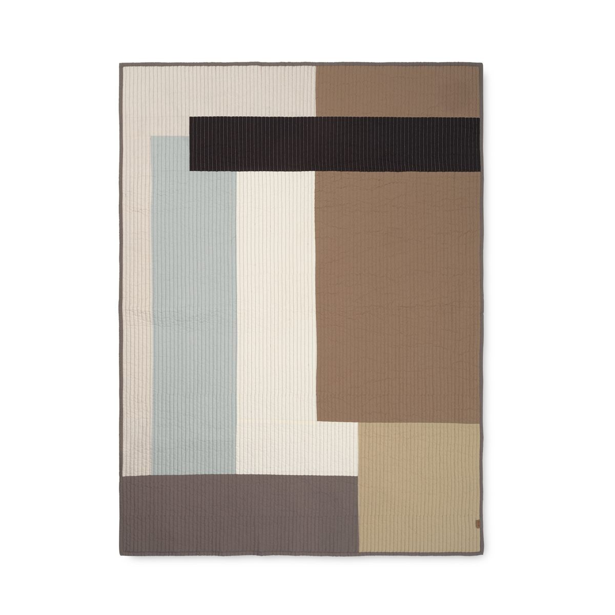 Ferm Living Shay Quilted Blanket