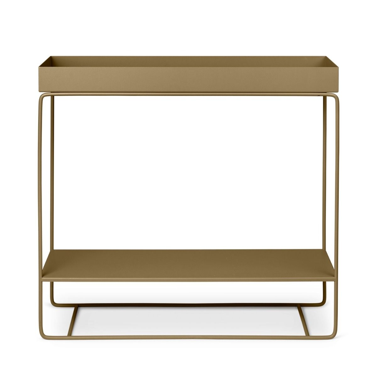 Ferm Living two tier plant box olive green