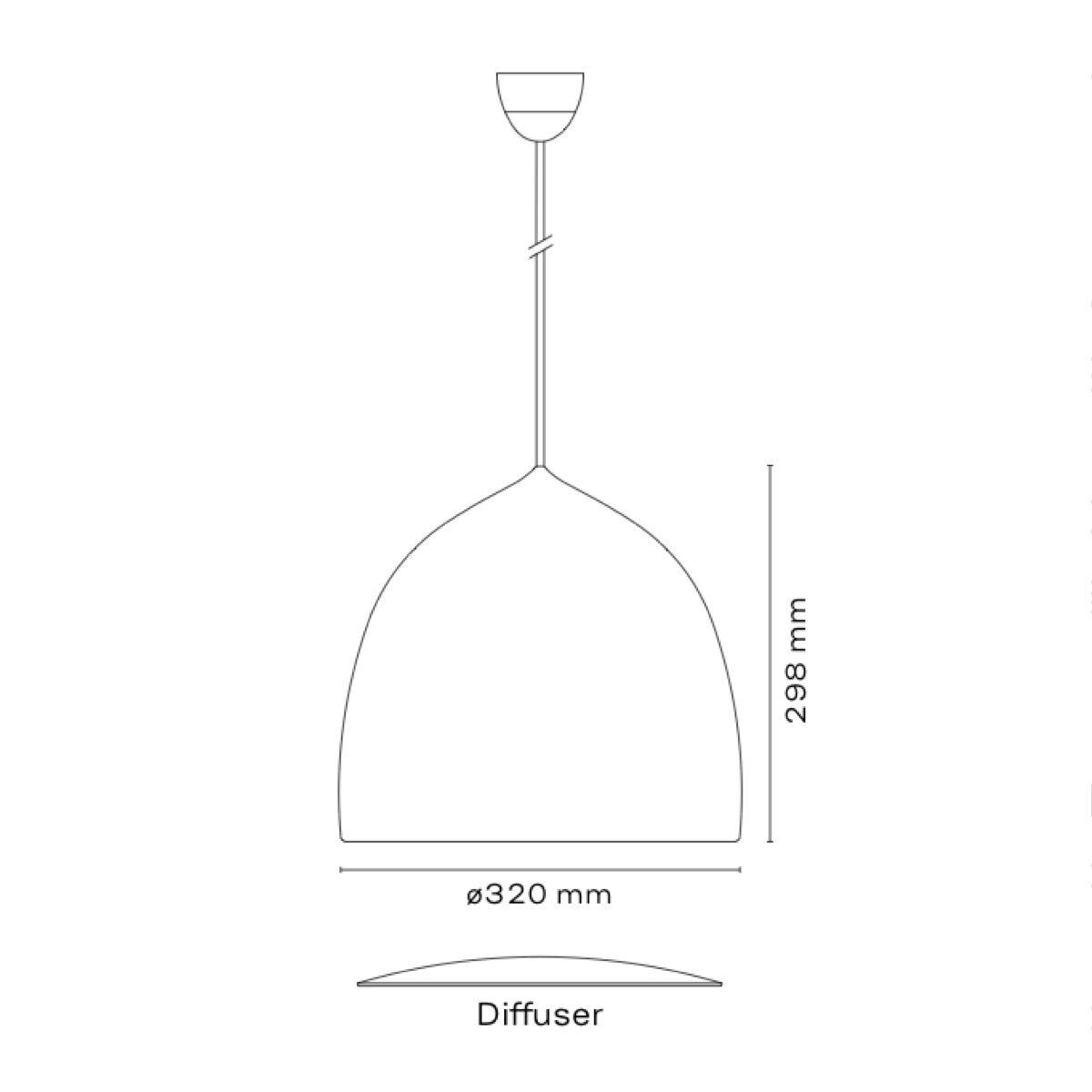 Fritz Hansen Suspence P1.5 Pendant Light