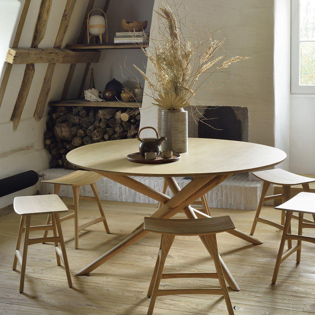 Ethnicraft Mikado Dining Table - Round