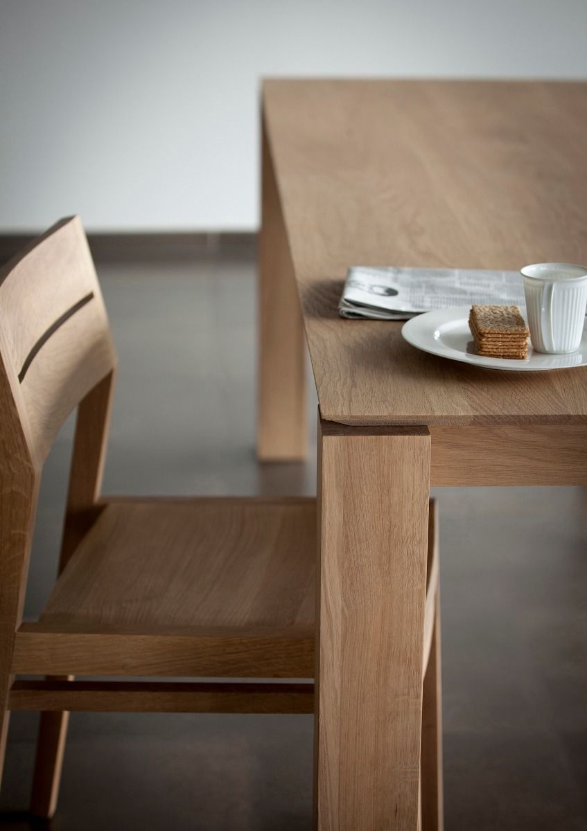 Ethnicraft Slice Extendable Dining Table