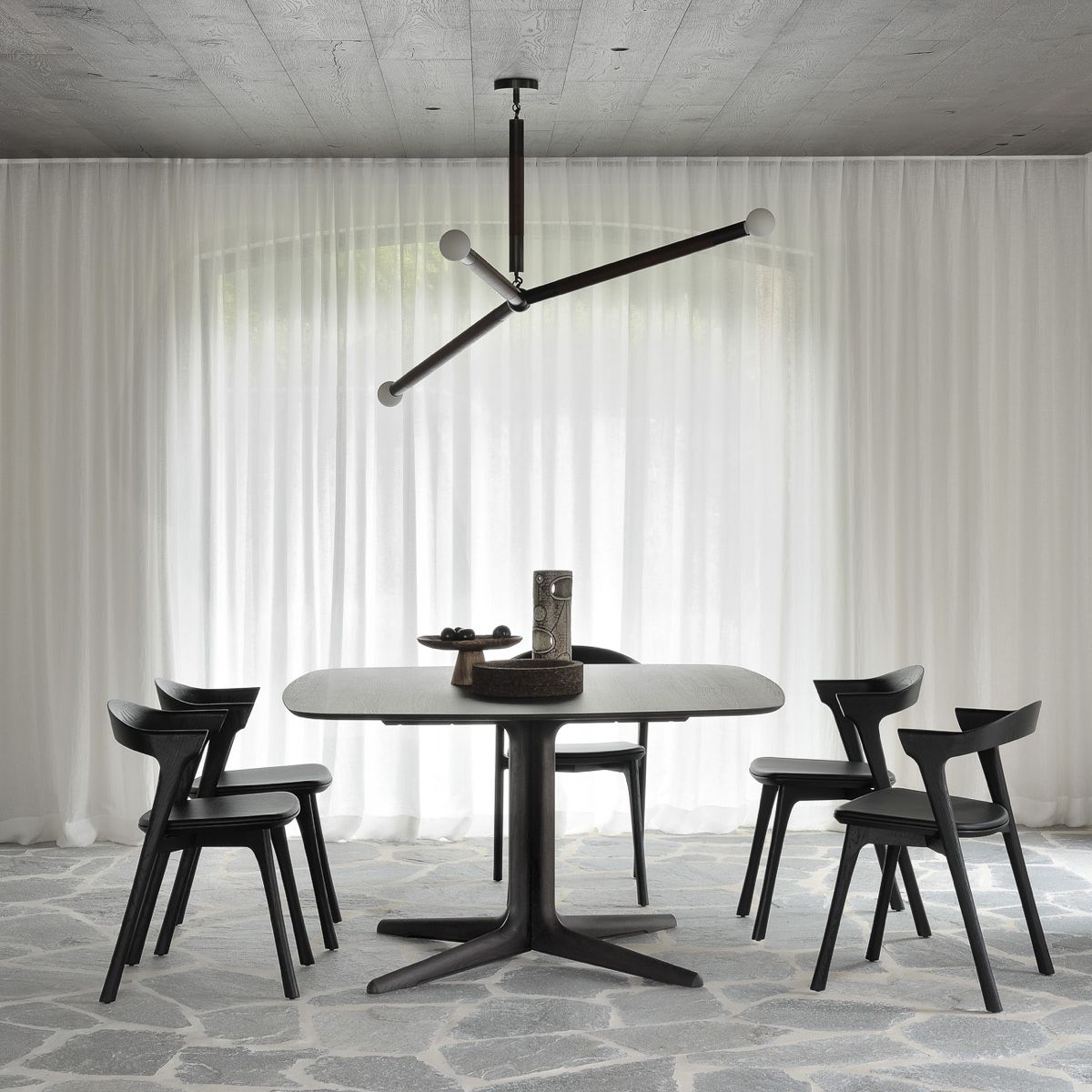 Ethnicraft Corto Brown Dining Table