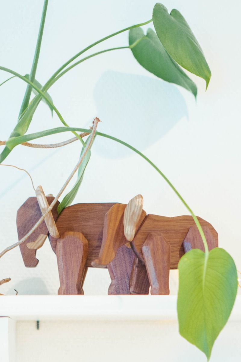 FableWood Father Elephant