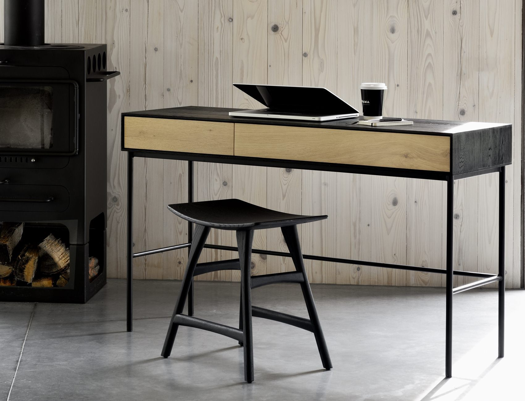 Ethnicraft Bird Desk