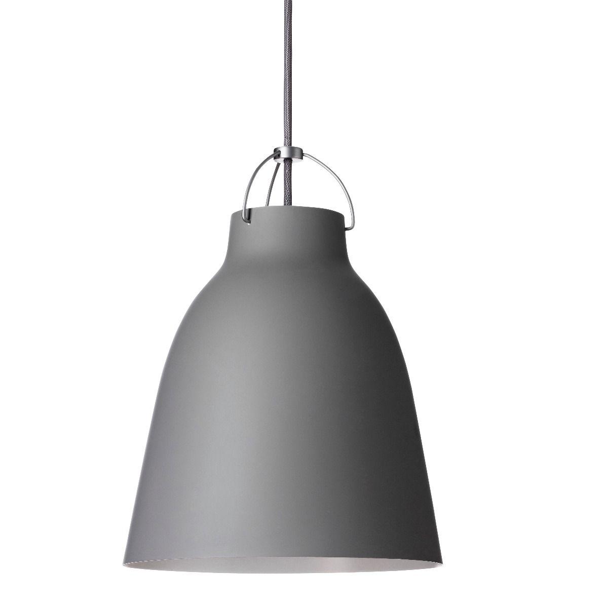 fritz hansen caravaggio pendant light matt  grey