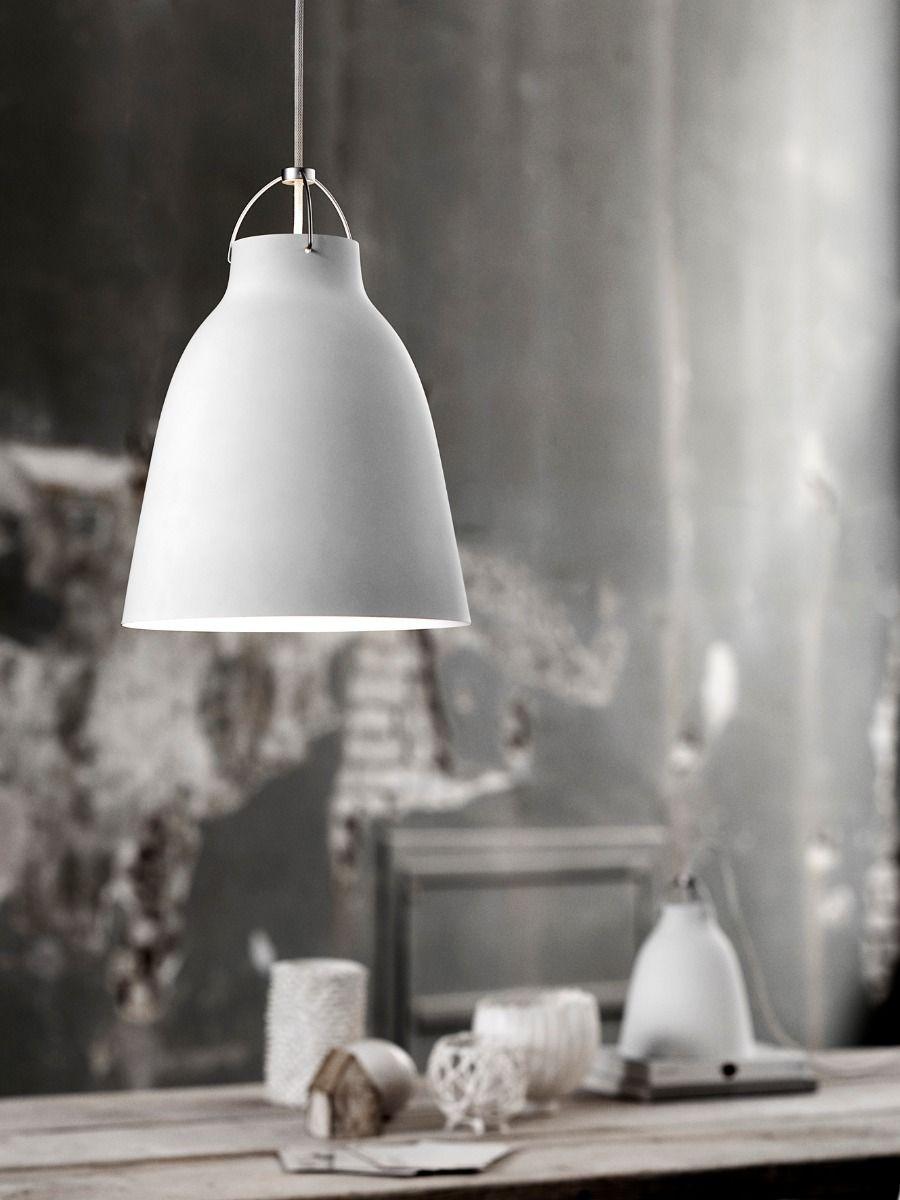 fritz hansen caravaggio pendant light matt white
