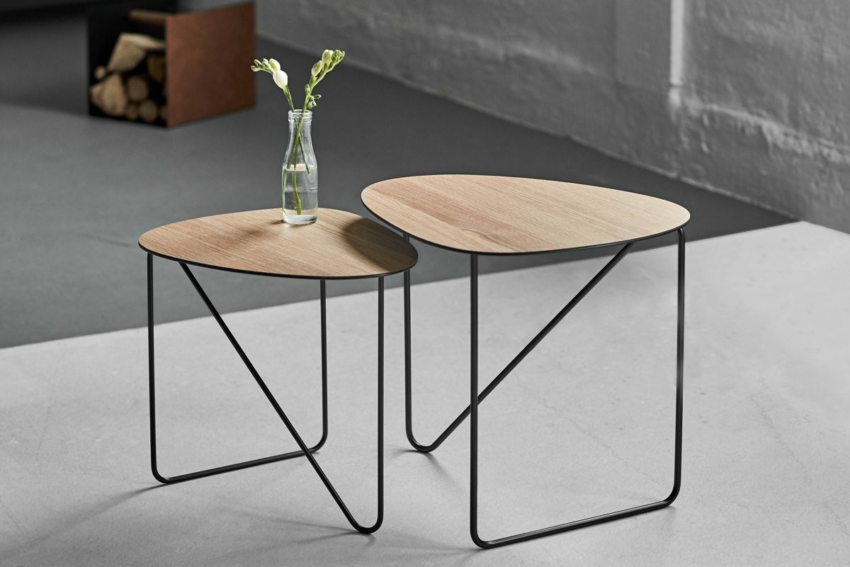 Lind DNA Curve Coffee Table - Wood
