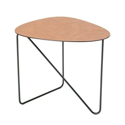 Lind DNA Curve Coffee Table - Leather