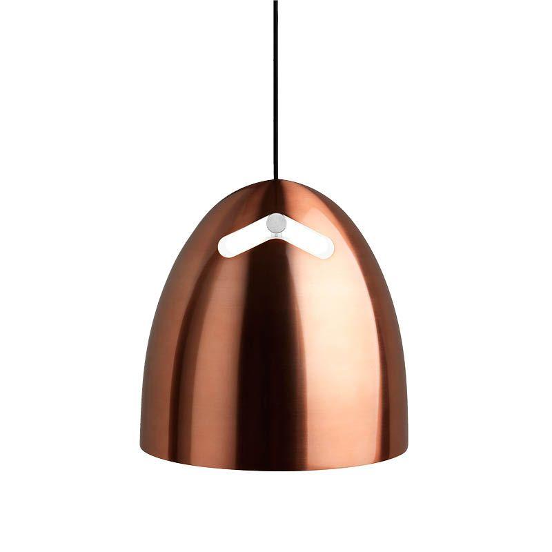 Darø Bell+ Rose Copper Pendant Light