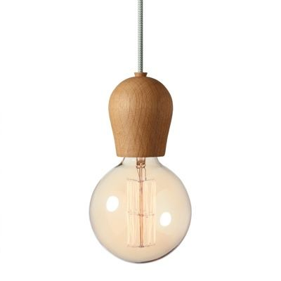 Nordic Tales Bright Sprout Pendant oiled oak
