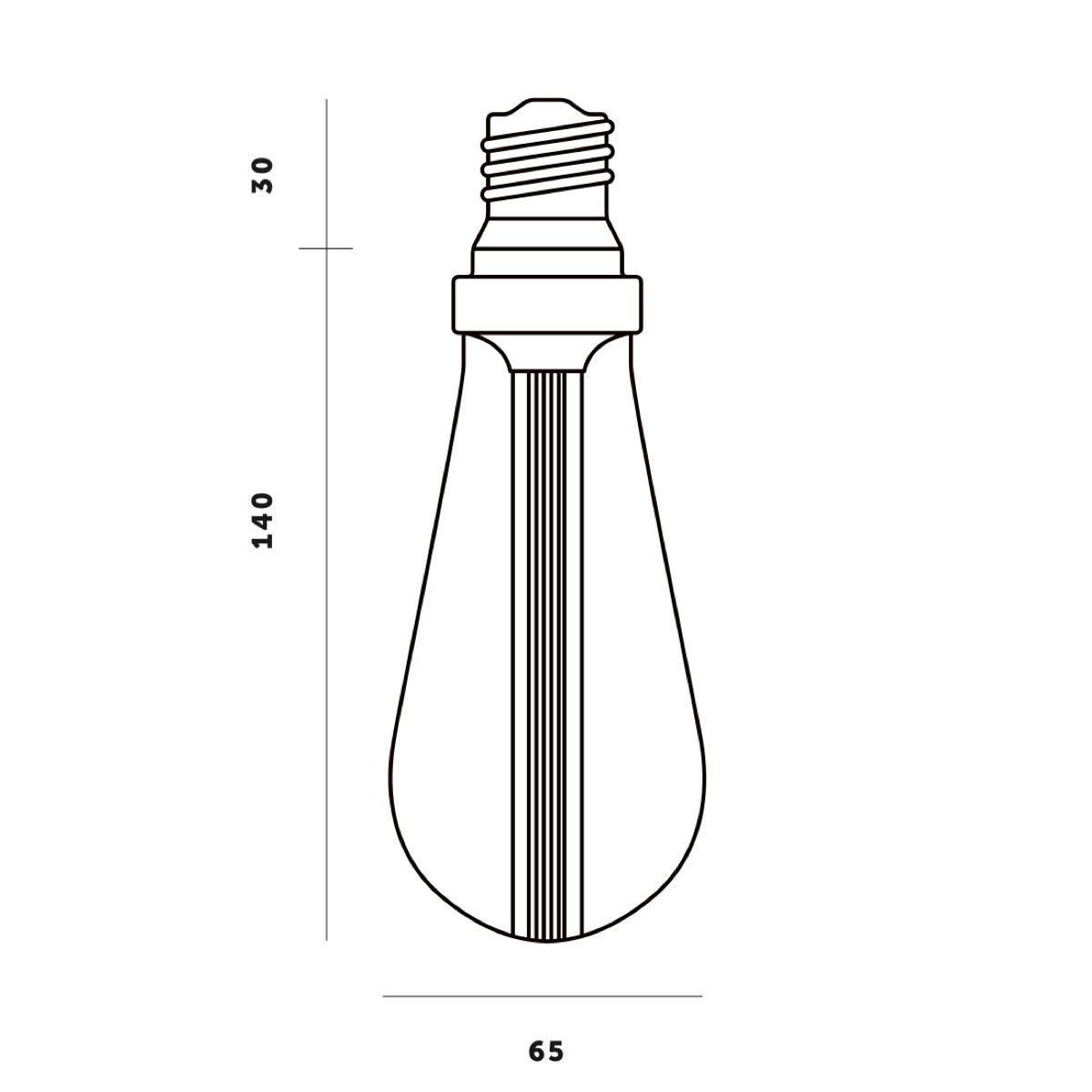Buster + Punch Buster Bulb Teardrop