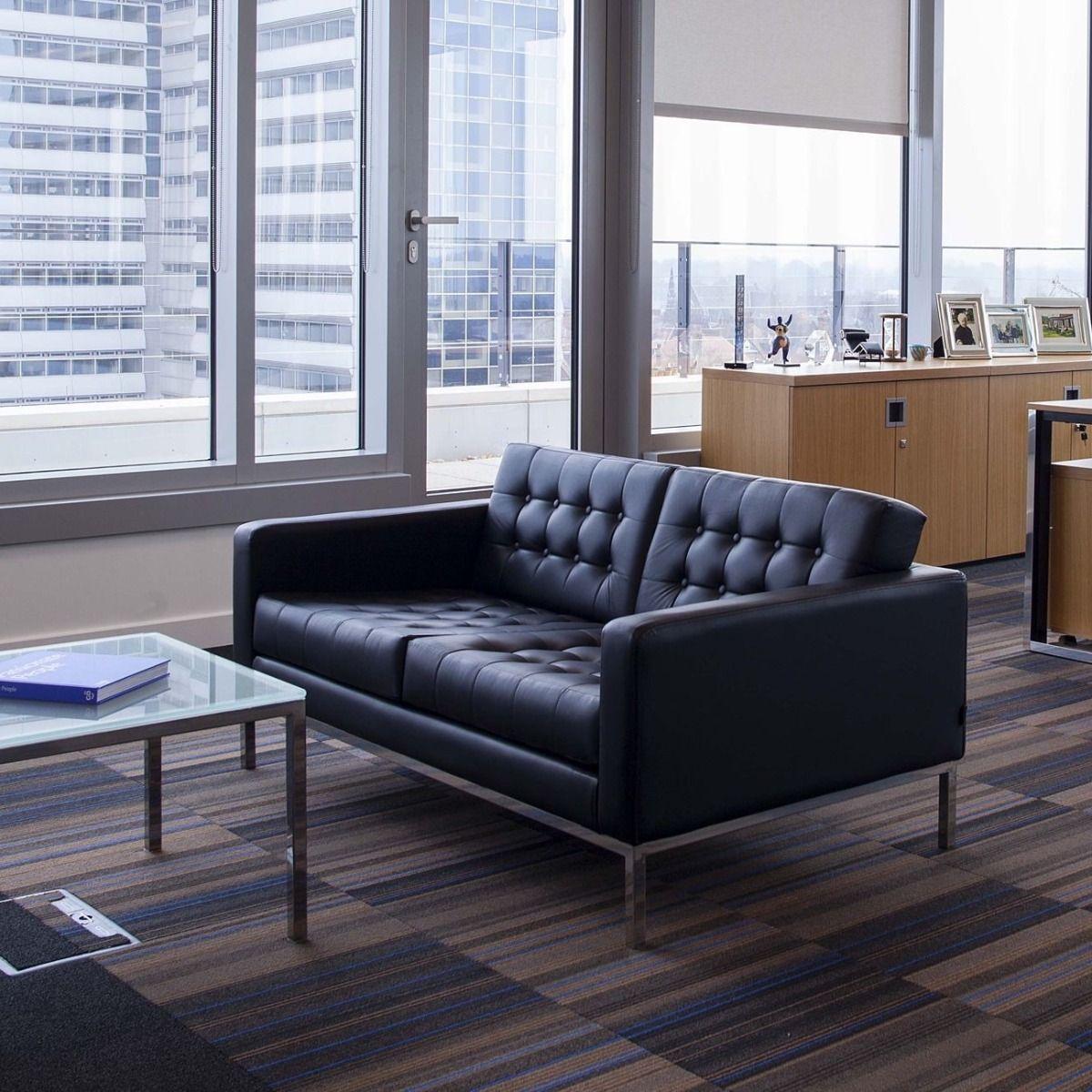 Robin Day Club sofa in an office