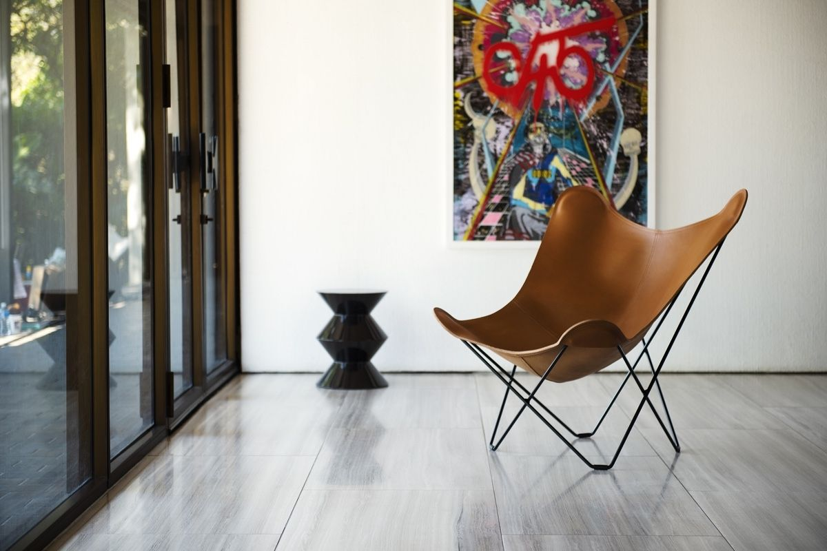 Cuero Design Leather Butterfly Chair - Pampa Mariposa