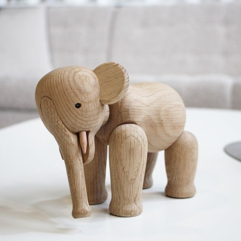 Kay Bojesen Elephant on Coffee table