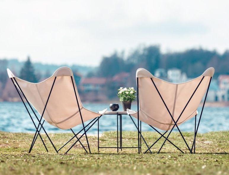Cuero Design Outdoor Butterfly Chair - Sunshine Mariposa