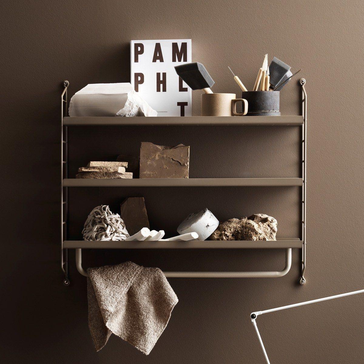 String Pocket Shelf - Metal