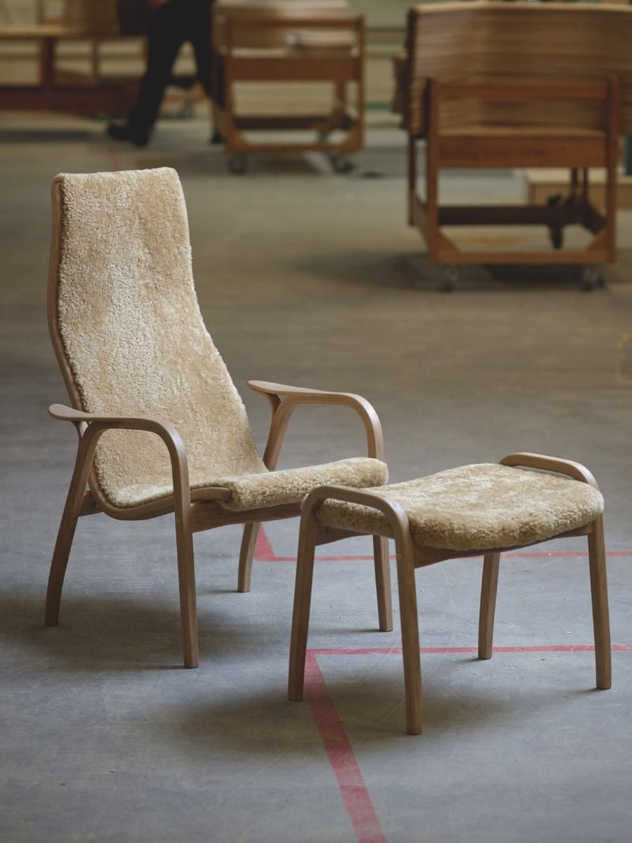 Swedese Lamino Easy Chair - Anniversary Edition in factory