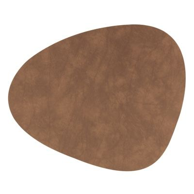 Lind DNA Curve Table Mats Leather