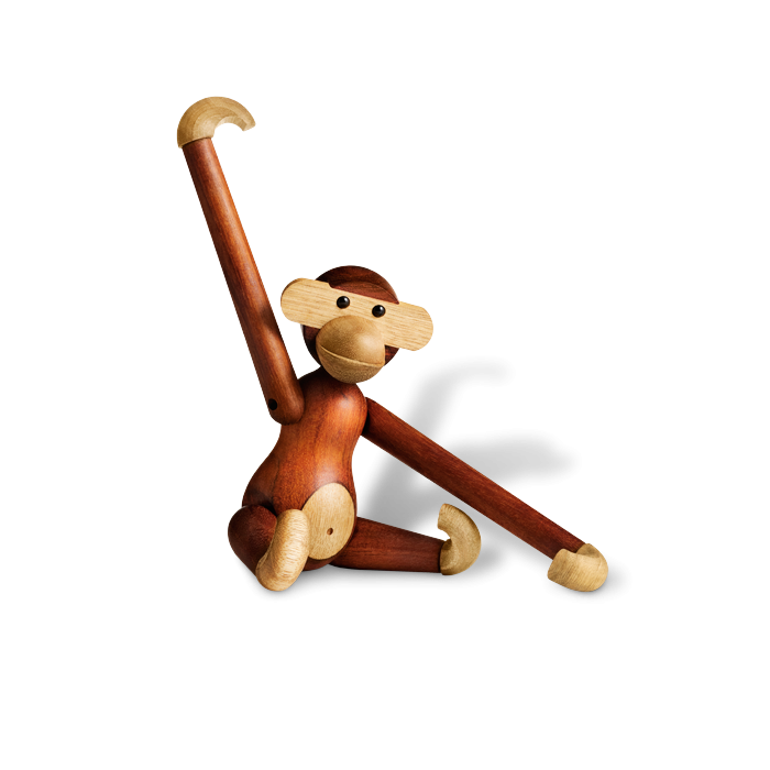 Kay Bojesen Monkey Teak and Limba - Small