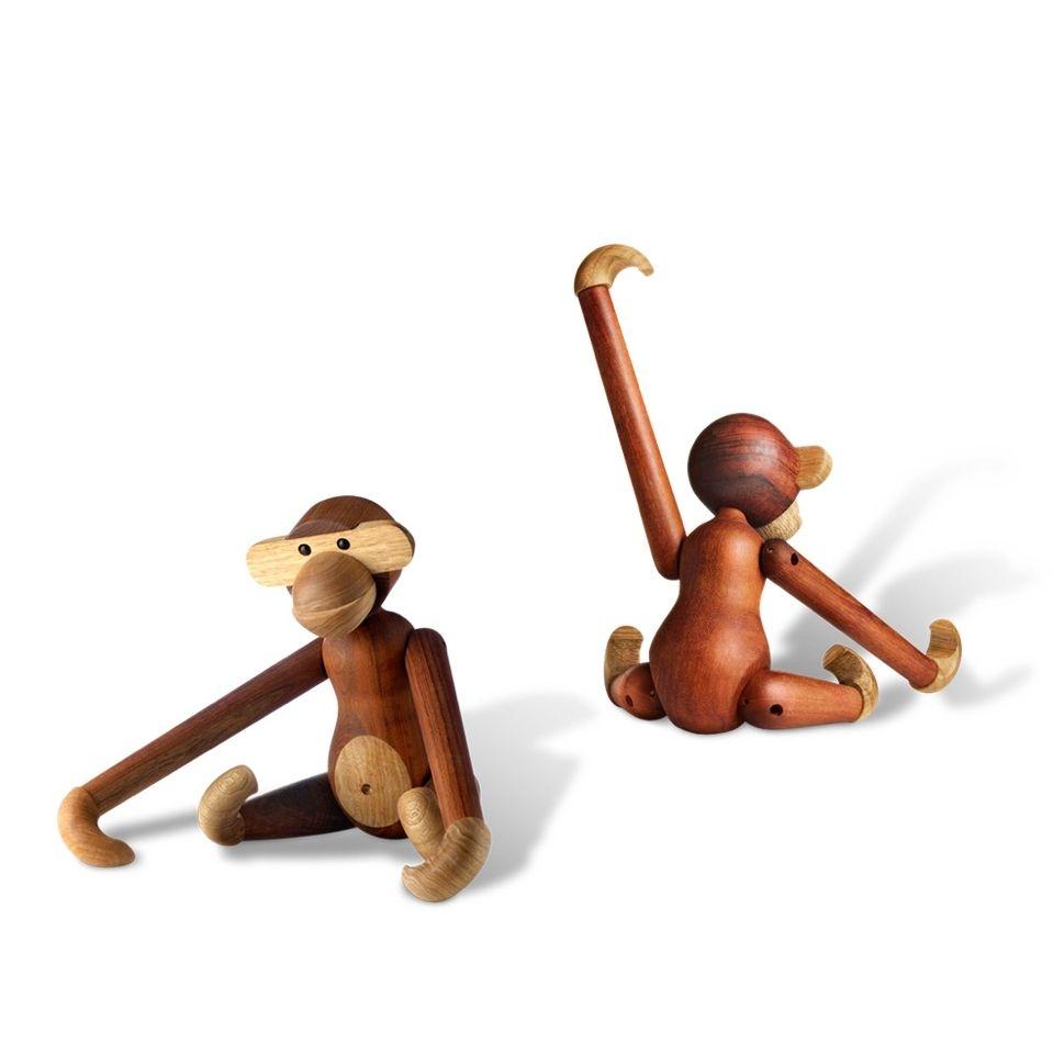 Kay Bojesen Monkey Teak and Limba