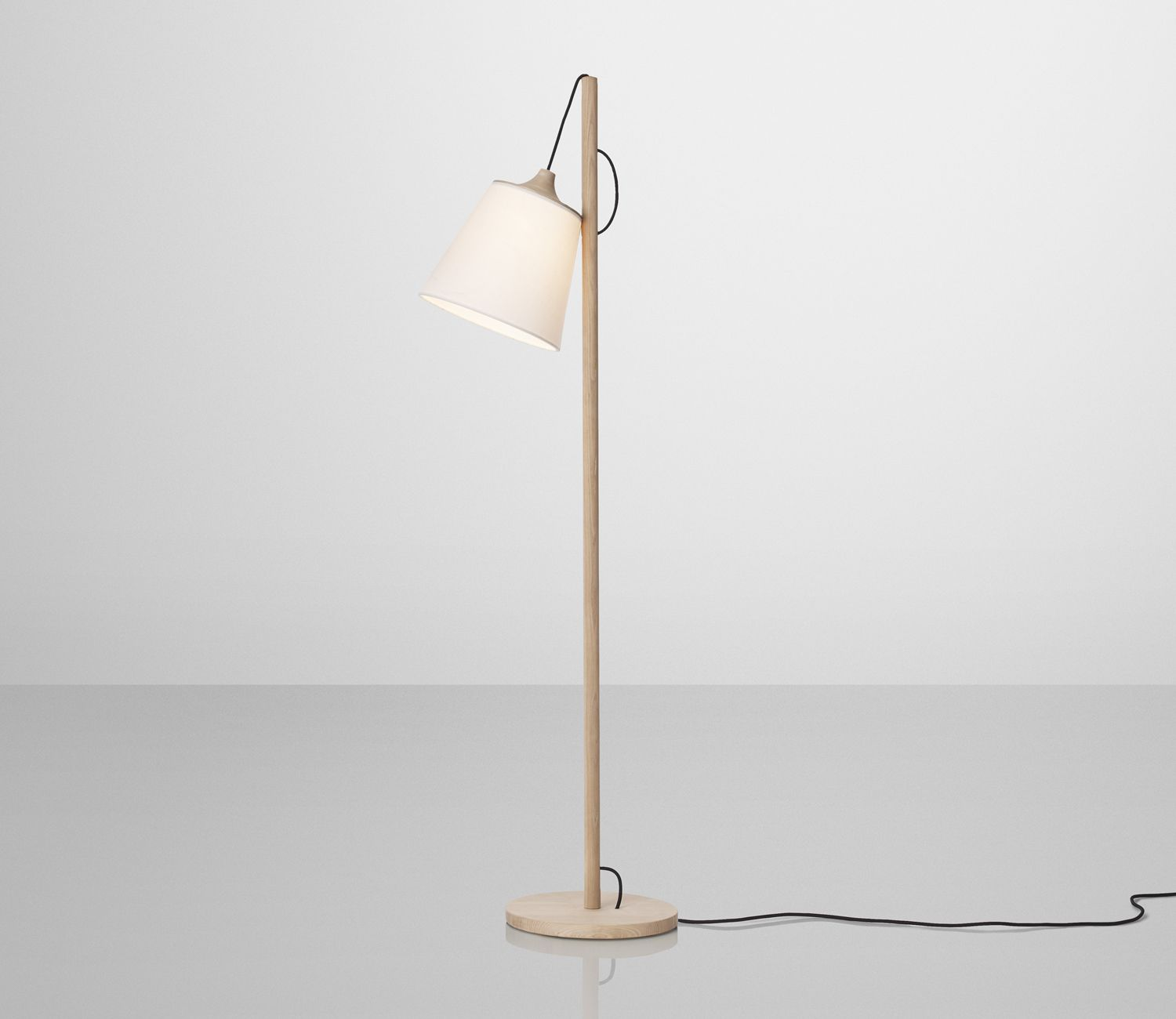Muuto Pull Lamp with shade in upper position
