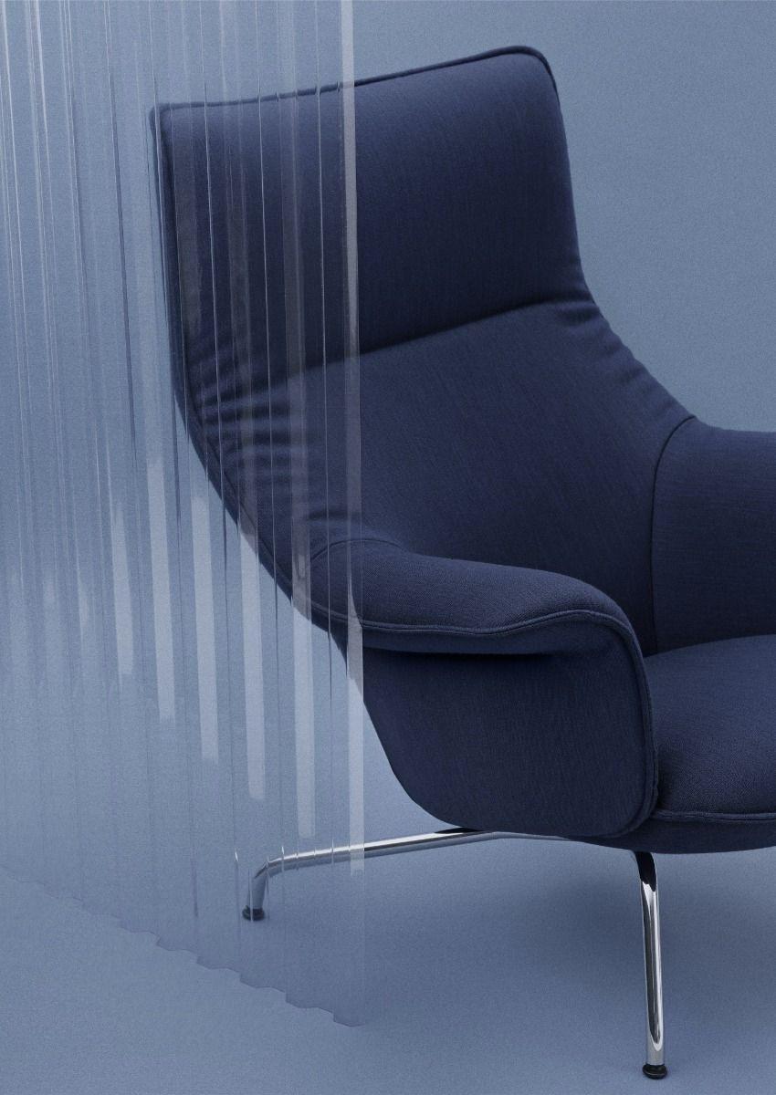 Muuto Doze Lounge Chair - Fabric