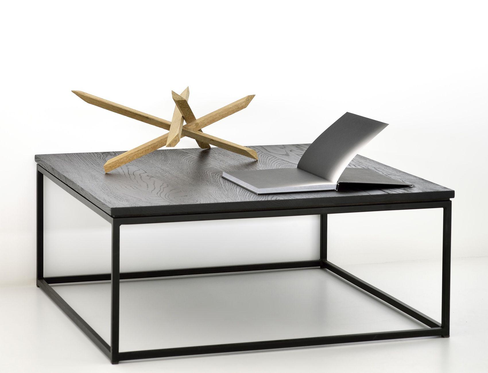 Ethnicraft Thin Black coffee table