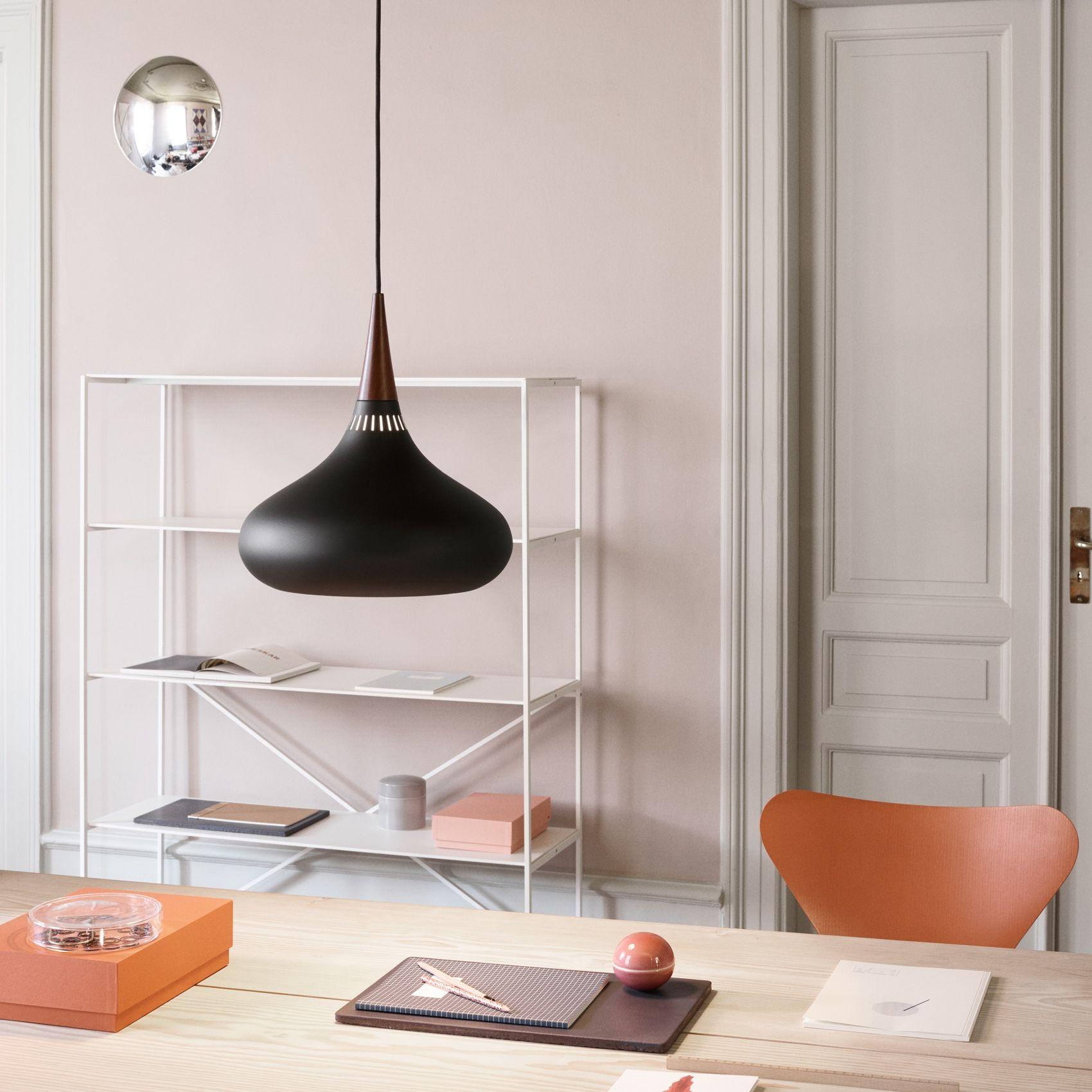 Fritz Hansen Orient Black Pendant Light