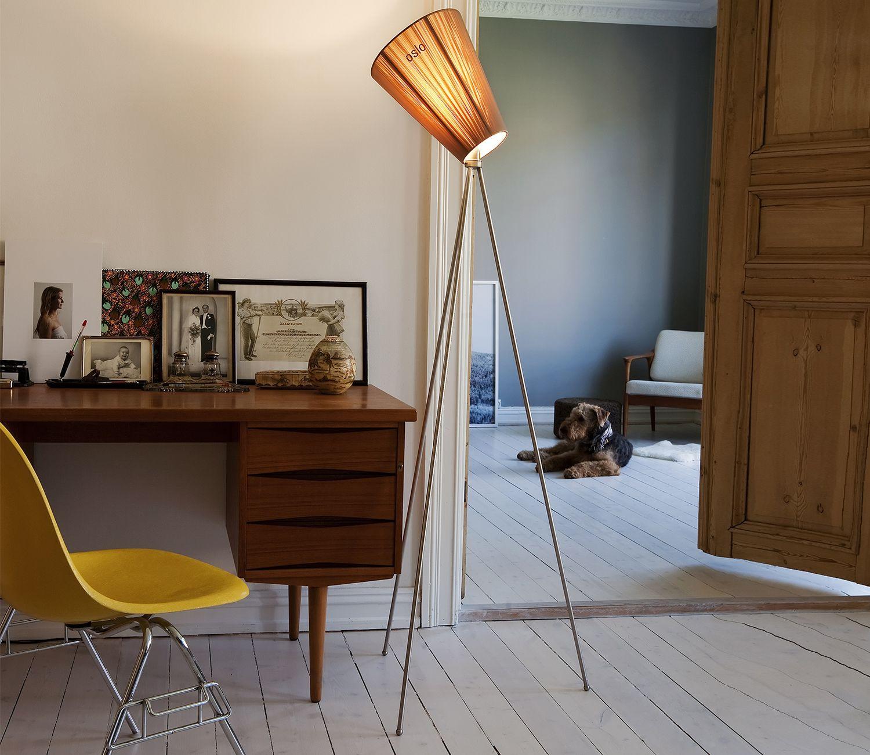 Northern Oslo Wood Floor Lamp